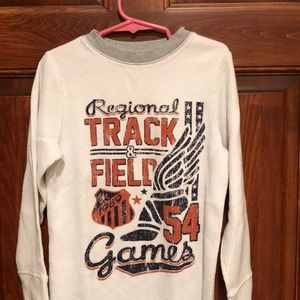 Size 5/6 track and field shirt